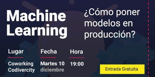 Modelos de Machine Learning en producción