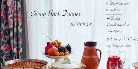 Giving Back Dinner by SUMAK tickets