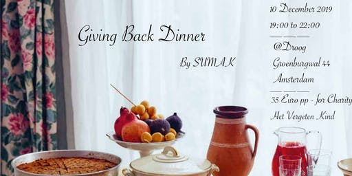 Giving Back Dinner by SUMAK