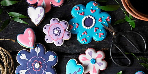 Biscuiteers School of Icing - Mother's Day Flowers - Notting Hill