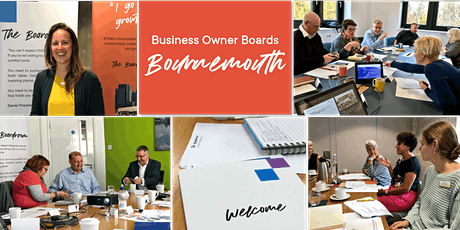 Free Taster of the Business Owner Boards, BOURNEMOUTH - Live & Interactive Zoom WebConference tickets