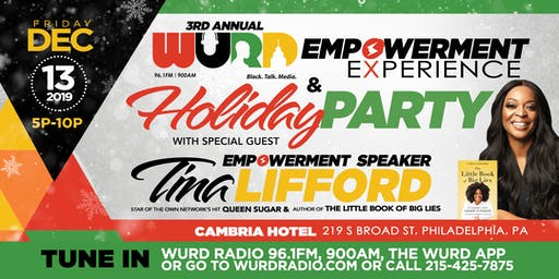 WURD RADIO | EMPOWERMENT EXPERIENCE AND HOLIDAY PARTY