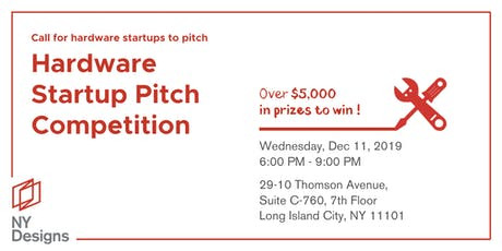 Hardware Startup Pitch Competition tickets