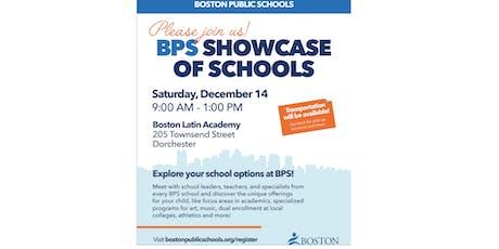 Boston Public Schools Citywide Showcase of Schools tickets