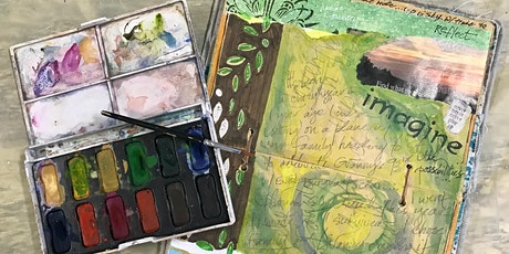 Half Day: Guided Visual Journals with Debi West (Adult Class) tickets