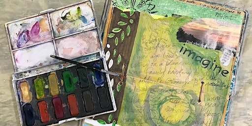 Half Day: Guided Visual Journals with Debi West (Adult Class)