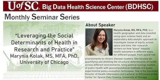 UofSC BDHSC's Monthly Seminars