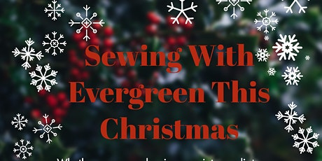 Sewing for Christmas tickets