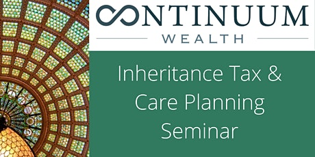 Inheritance tax planning and long-term care seminar with lunch  tickets