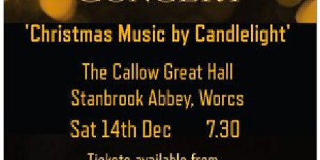 Christmas  by Candlelight -  an evening with Excelsa Voces tickets