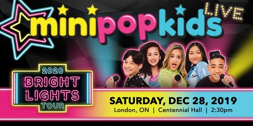 MINI POP KIDS Live: The Bright Lights Concert Tour