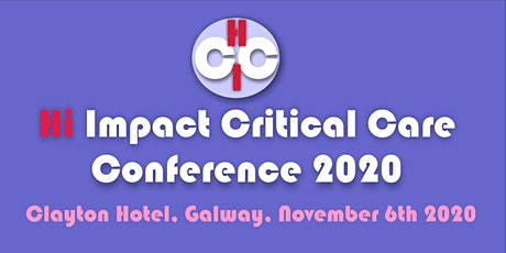 Hi Impact Critical Care 2020 tickets