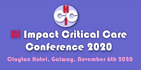 Hi Impact Critical Care 2020 tickets