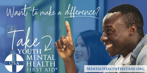 FREE Community Training: YOUTH Mental Health First Aid
