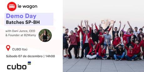 Le Wagon Mega Demo Day - Batches SP-BH / 2019 ingressos