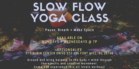 Slow Flow Meditation Yoga tickets
