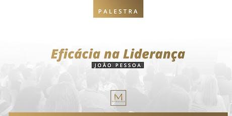 Palestra - Eficácia na Liderança tickets