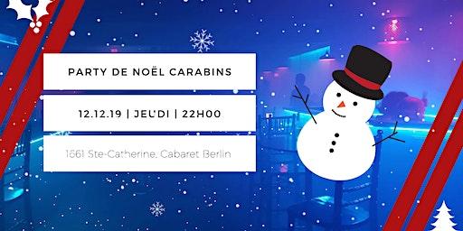 Party de Noël Carabins