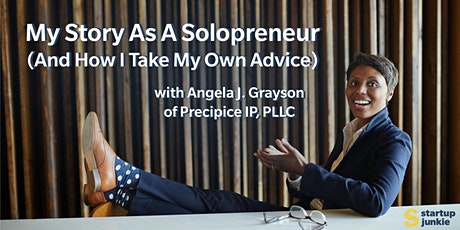 My Story As A Solopreneur (And How I Take My Own Advice) tickets