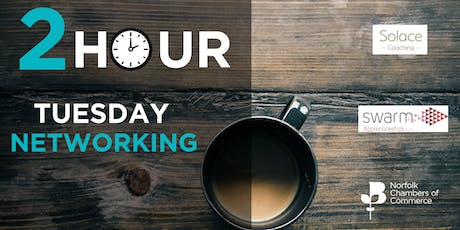 2 Hour Tuesday Networking in King's Lynn - April tickets