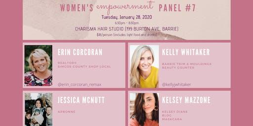 Women's Empowerment Panel #7