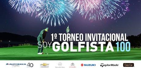 Torneo Soy Golfista 100 tickets