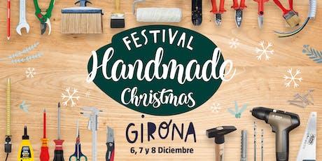 Handmade Festival Christmas- Crea tu bandeja de madera rústica con V33 entradas