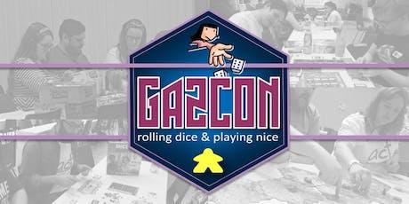 GAZCON 2020 - Board Game Event tickets