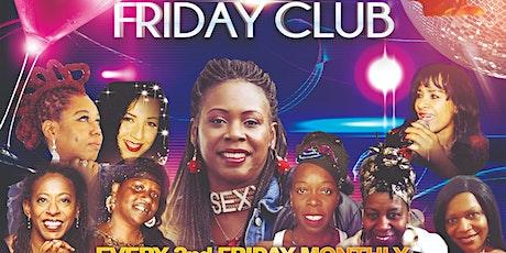 Stokey Friday Club ‐ December tickets