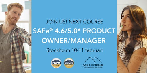 SAFe 4.6®/5.0* Product Owner/Manager