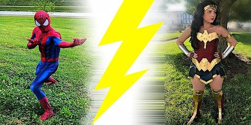 Super Hero Training Day @ The Kentucky Castle