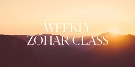 Weekly Zohar Class December 2019 tickets
