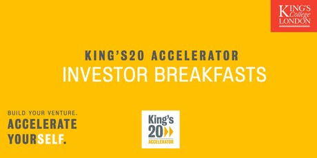 COMMUNITY-TECH Investor Breakfast @ King's20 Accelerator tickets