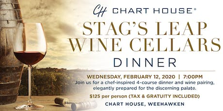 Chart House Stag's Leap Wine Cellars Dinner- Weehawken, NJ tickets