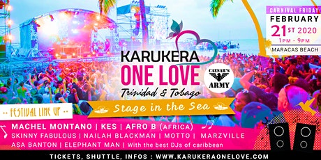 Karukera One Love Beach Festival tickets