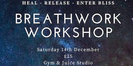 Breathwork Workshop - MANCHESTER  tickets