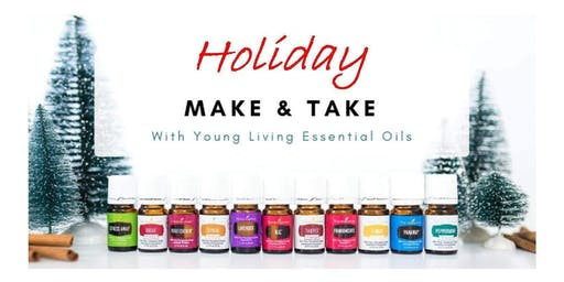 Holiday essential oil stocking stuffer make-and-take