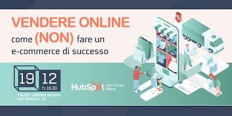 Vendere online: come (non) fare un e-commerce di successo biglietti