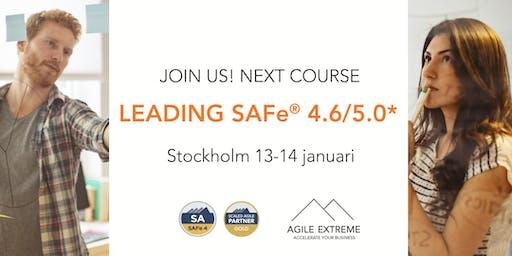 Leading SAFe® 4.6/5.0*
