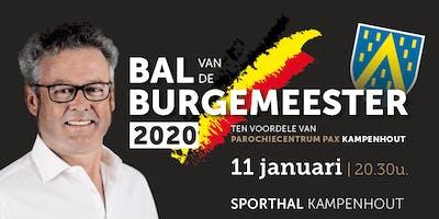 Bal van de Burgemeester 2020