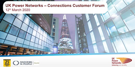 UK Power Networks   Connections Customer Forum   12th March 2020 tickets