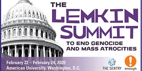 Student Registration: 2020 Lemkin Summit to End Genocide & Mass Atrocities tickets