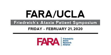 FARA/UCLA Friedreich's Ataxia Patient Symposium  tickets