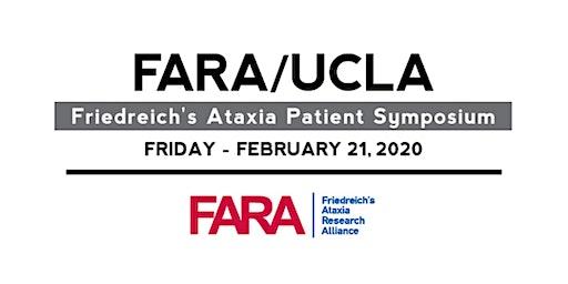 FARA/UCLA Friedreich's Ataxia Patient Symposium