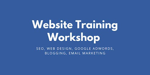SEO, Web Design & Blogging Workshop