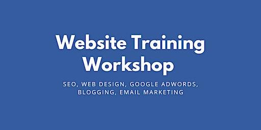 SEO, Web Design & Blogging Workshop