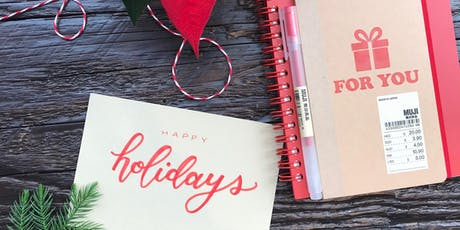 Holiday Calligraphy Class at MUJI Hudson Yards tickets