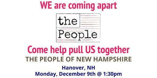The People of New Hampshire - Hanover Kick-off Event