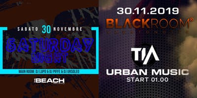 Reggaeton, Hip-hop & Trap Party - Saturday 30th November - The Beach Milano