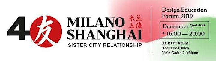 Immagine 40th Milano – Shanghai, Sister City Relationship. Design Education Forum 20